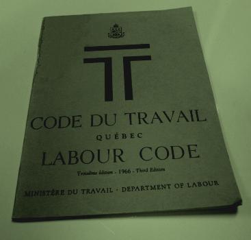 code du travail quebec en ligne